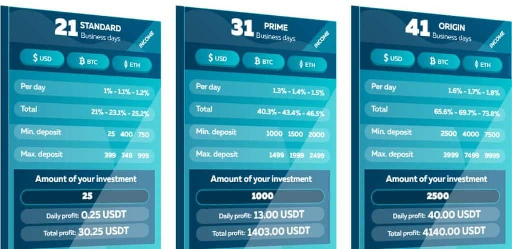 Bruxis: Long-term investment platform, profit up to 30% per month
